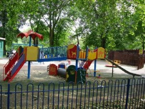 Spielplatz in London